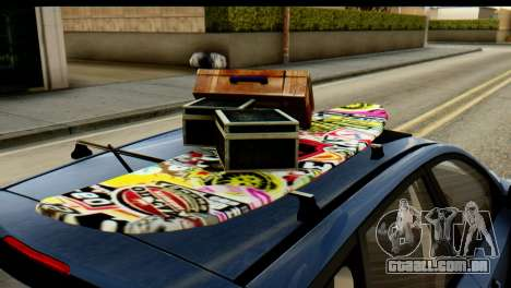 Kia Ceed para GTA San Andreas vista direita