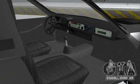 Dacia 1305 Papuc Pick-Up Drop Side 1.9D para vista lateral GTA San Andreas