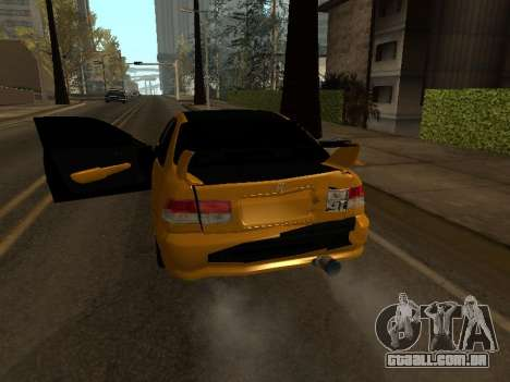 Honda Civic para GTA San Andreas vista superior