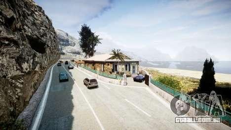 Mapa da Riviera francesa v1.2 para GTA 4 quinto tela