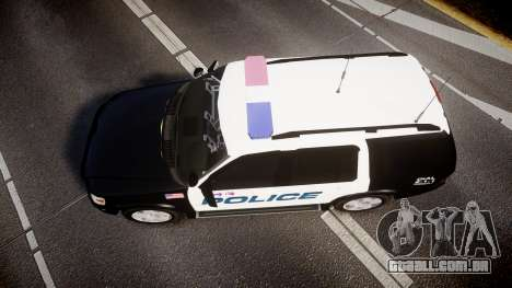 Ford Explorer 2008 Police [ELS] para GTA 4 vista direita