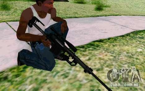Cheytac M200 Black para GTA San Andreas sexta tela