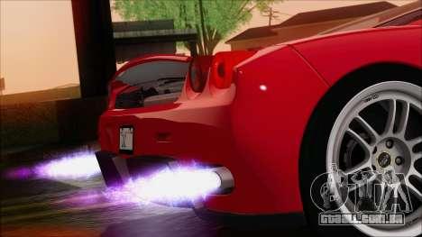SA_nVidia: Capturas De Tela, Edição De para GTA San Andreas por diante tela