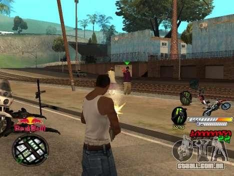 С-HUD RedBull para GTA San Andreas