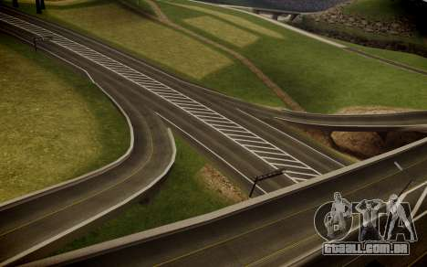 Fourth Road Mod para GTA San Andreas quinto tela