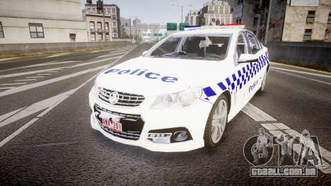 Holden VF Commodore SS Victorian Police [ELS] para GTA 4