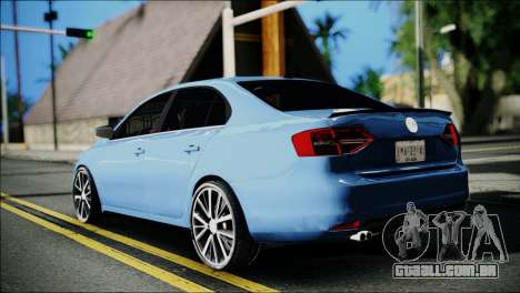 Volkswagen Jetta 2015 para GTA San Andreas esquerda vista