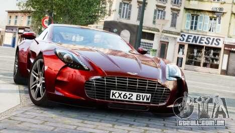 Aston Martin One-77 2010 [EPM] para GTA 4