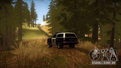 ENB Autumn para GTA San Andreas quinto tela