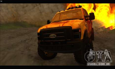 Ford F-250 Rusty Lifted 2010 para GTA San Andreas