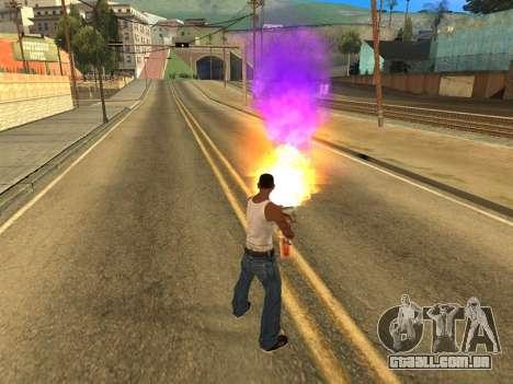 Fagot Funny Effects 1.1 para GTA San Andreas terceira tela