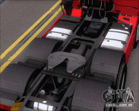 Iveco Stralis HiWay 6x4 para vista lateral GTA San Andreas