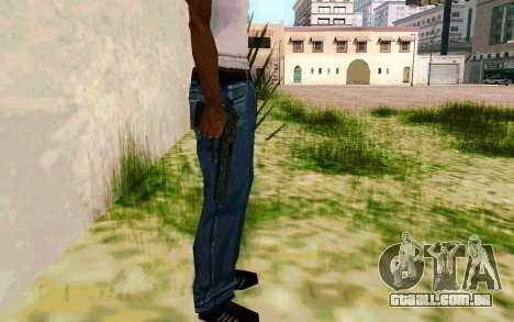 Desert Eagle (Dodgers) para GTA San Andreas por diante tela