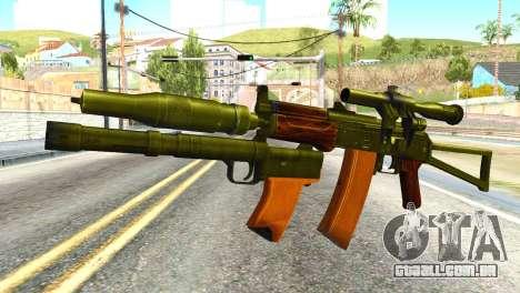 Canárias (América do Exército) para GTA San Andreas