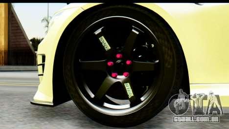 BMW M3 GTS Tuned v1 para GTA San Andreas traseira esquerda vista