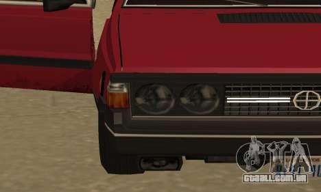 FSO Polonez 1500 para GTA San Andreas interior