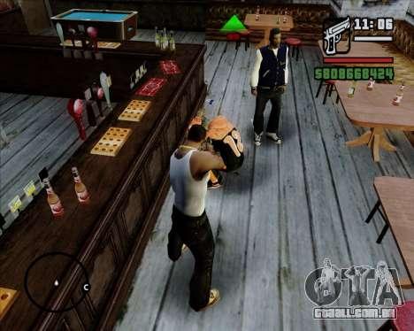 Digital indicador de vida adversários para GTA San Andreas