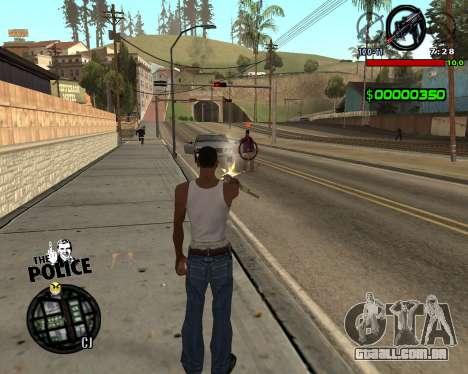 C-HUD by Jim para GTA San Andreas segunda tela