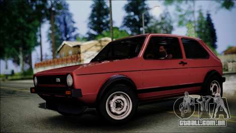 Volkswagen Golf Mk1 GTD para GTA San Andreas