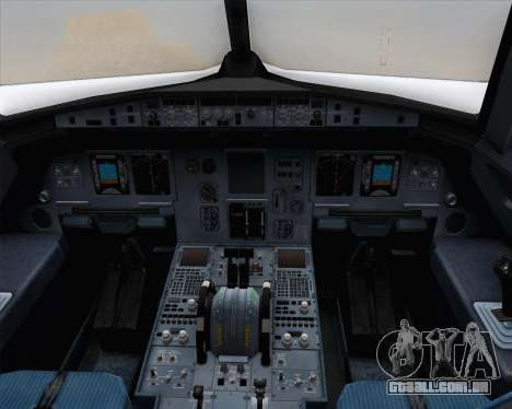 Airbus A320-200 Brussels Airlines para vista lateral GTA San Andreas