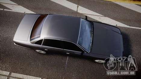 GTA V Vapid Stanier Stock para GTA 4 vista direita