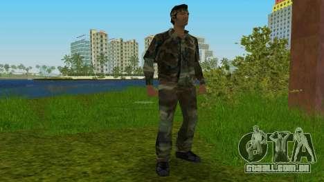 Original VC Camo Skin para GTA Vice City terceira tela
