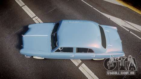 Ford Custom Fordor 1949 para GTA 4 vista direita