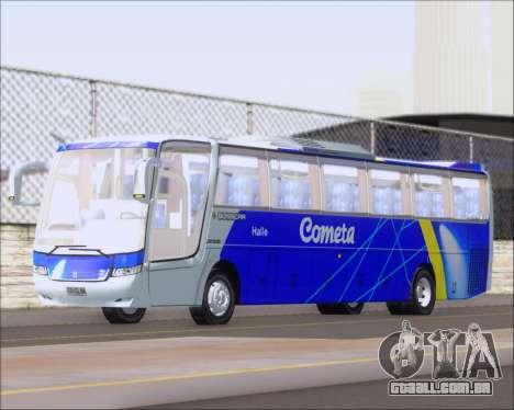 Busscar Vissta Buss LO Cometa para GTA San Andreas esquerda vista