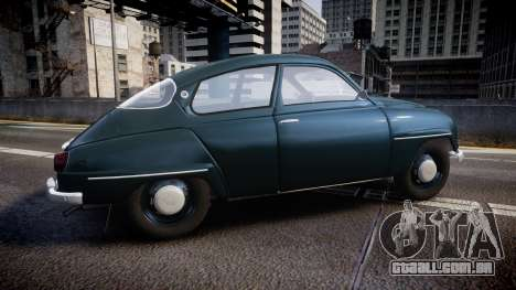 Saab 96 [Final] para GTA 4 esquerda vista