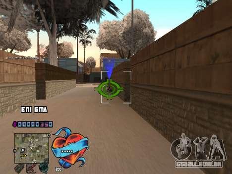 C-HUD Coração para GTA San Andreas por diante tela