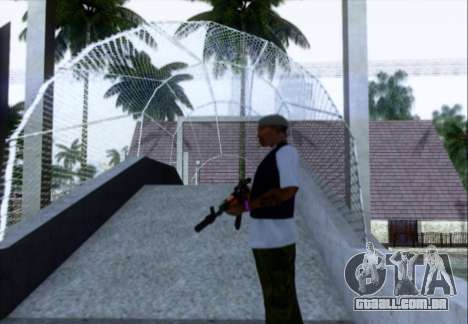 Akmn com CBE para GTA San Andreas terceira tela