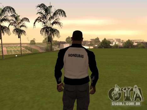 Adidas Honduras Track Jacket para GTA San Andreas segunda tela