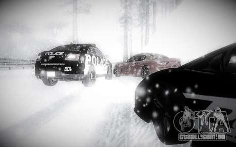 Inverno 2.0 ENBSeries para GTA San Andreas quinto tela
