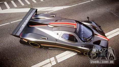 Pagani Zonda Revolution 2013 para GTA 4 vista direita