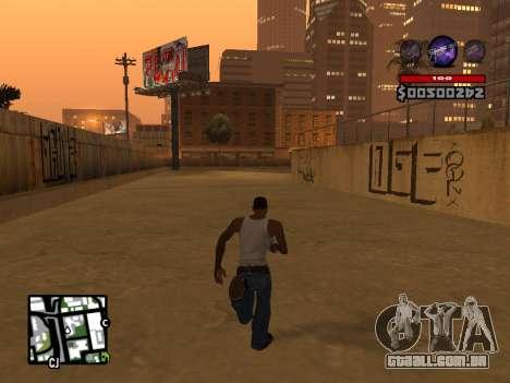 C-HUD by Granto para GTA San Andreas quinto tela