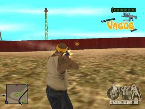 C-HUD Vagos para GTA San Andreas