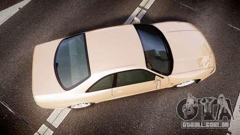 Nissan Skyline R33 GT-R V.spec 1995 para GTA 4 vista direita