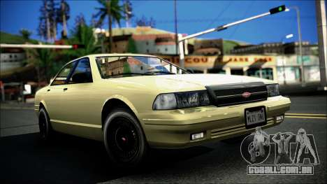 Civillian Vapid Stanier II from GTA 4 para GTA San Andreas