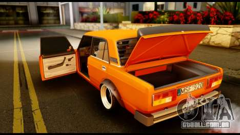 VAZ 2105 JDM para GTA San Andreas vista inferior