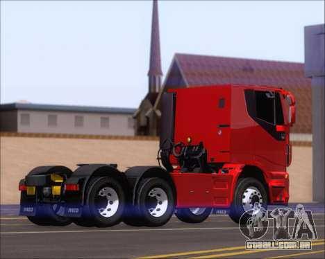 Iveco Stralis HiWay 6x4 para GTA San Andreas vista direita