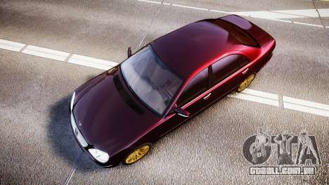 Mercedes-Benz S600 W220 para GTA 4 vista direita