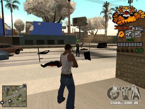 C-HUD King para GTA San Andreas quinto tela