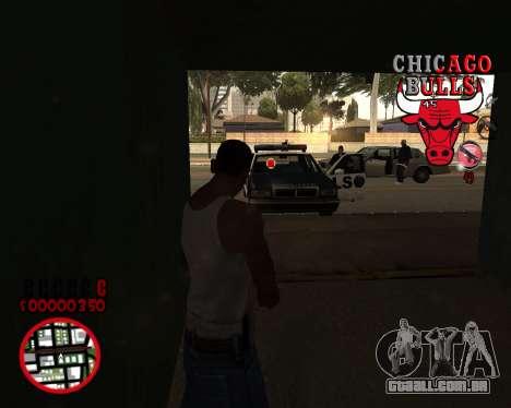 C-HUD by Mefisto para GTA San Andreas terceira tela