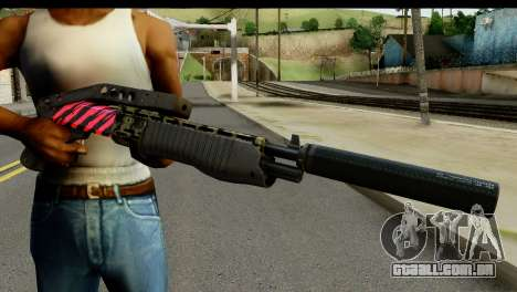 Red Tiger Combat Shotgun para GTA San Andreas terceira tela