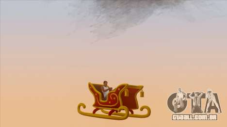 Santa Claus Sleigh para GTA San Andreas