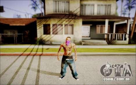 Ghetto Skin Pack para GTA San Andreas quinto tela