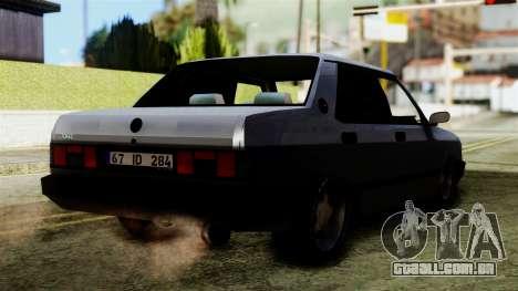 Tofas Dogan SLX para GTA San Andreas esquerda vista