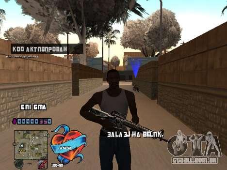 C-HUD Coração para GTA San Andreas terceira tela