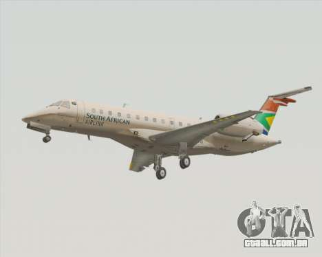 Embraer ERJ-135 South African Airlink para GTA San Andreas esquerda vista