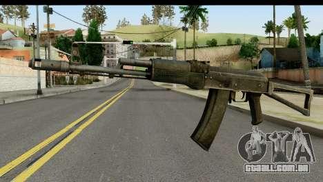 Plástico AKS-74 para GTA San Andreas